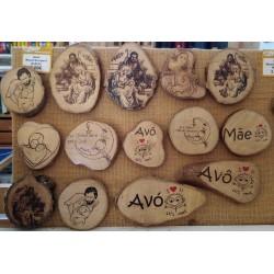 CdC Wood Souvenir Iman Grd