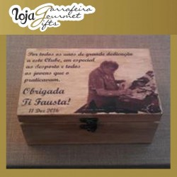 Wood Memories Cx 15x20 Personalizada