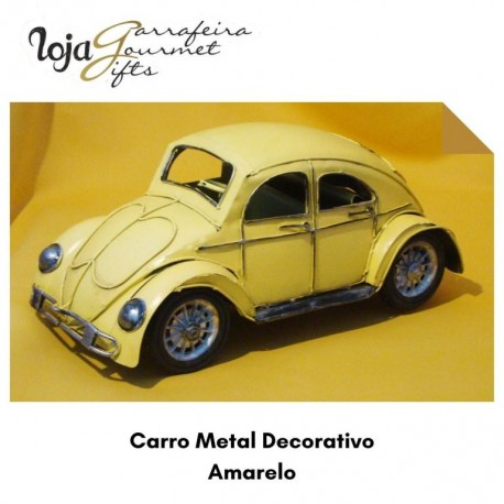 Carro Metal Decorativo