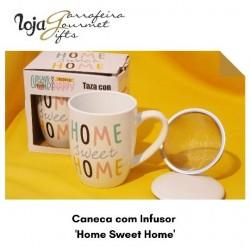 Caneca c/ Infusor Tea/Home