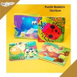 Puzzle Madeira 9 peças
