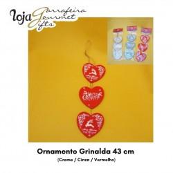 Ornamento Grinalda 43cm