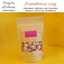Amêndoas Framboesa 125g