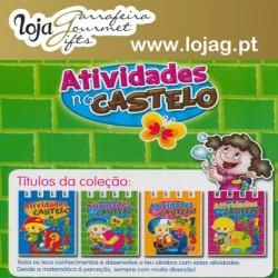 Livro Infantil Actividades no Castelo