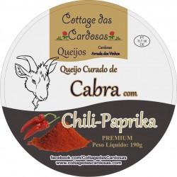 Queijo Cabra Chili-Paprik 190g