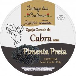 CdC Queijo Cabra Pimenta Prt 190g