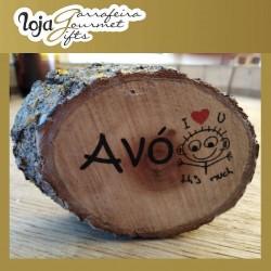 Gift Wood Souvenir Tronco Peq