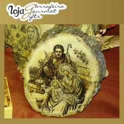 Gift Wood Souvenir Tronco Médio (Motivos Vários)