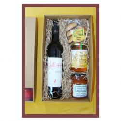 Conjunto Gourmet Vinho + Doce + Mel + Bolinhos