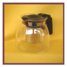 Bule de vidro com infusor 900ml