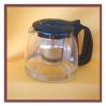 Bule de vidro com infusor 1250ml