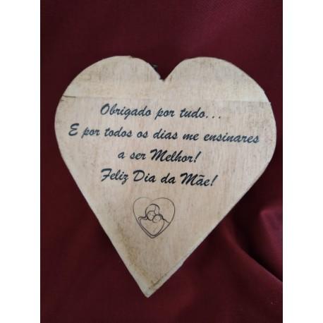 CdC Wood Souvenir Coração