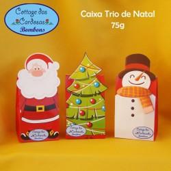 Caixa Trio de Natal 75g