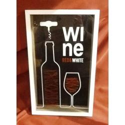 Quadro Wine p/ rolhas