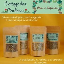 Chá Verde Hortelã e Canela 10g
